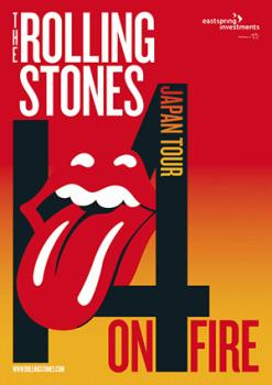 THE ROLLING STONES / 14 ON FIRE JAPAN TOUR 2014