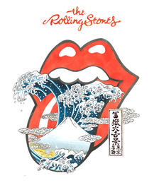 The Rolling Stones富嶽大舌景~赤舌~ ©2017 Musidor B.V. Under license to Bravado Merchandising. All Rights Reserved.