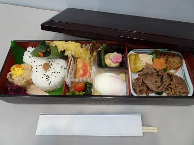 第2部 お昼の会でご提供したご昼食